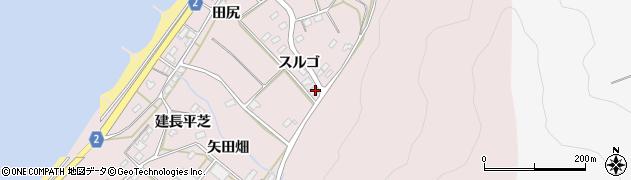 愛知県田原市野田町(宮西)周辺の地図