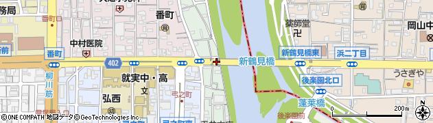 岡山県岡山市北区出石町周辺の地図