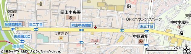 おかもと内科小児科診療所周辺の地図