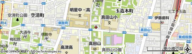 伝長寺周辺の地図