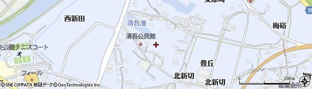 愛知県田原市豊島町(清吾)周辺の地図