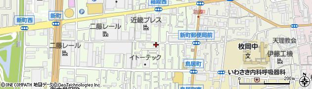 大阪府東大阪市新町8-33周辺の地図
