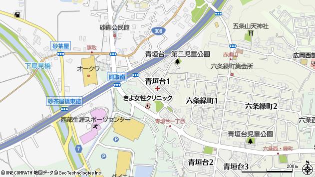 〒631-0053 奈良県奈良市青垣台の地図