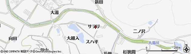 愛知県田原市仁崎町(サヲリ)周辺の地図
