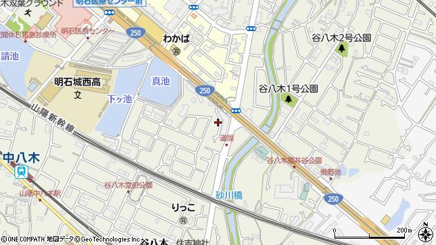 〒674-0062 兵庫県明石市大久保町谷八木の地図