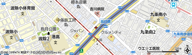 大阪府大阪市西区境川周辺の地図