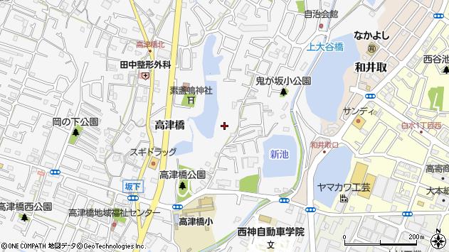 〒651-2122 兵庫県神戸市西区玉津町高津橋の地図