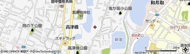兵庫県神戸市西区玉津町(高津橋)周辺の地図