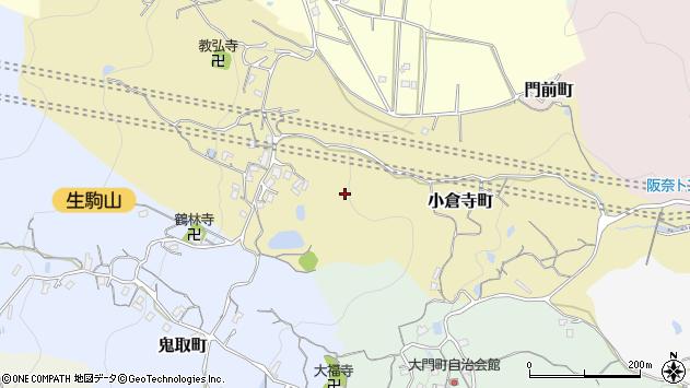 〒630-0232 奈良県生駒市小倉寺町の地図