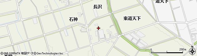 愛知県豊橋市高塚町(長沢)周辺の地図