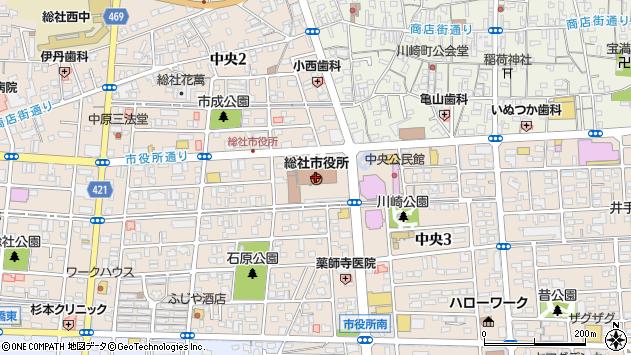 〒719-1100 岡山県総社市(以下に掲載がない場合)の地図