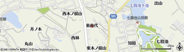 愛知県豊橋市杉山町(東南代)周辺の地図