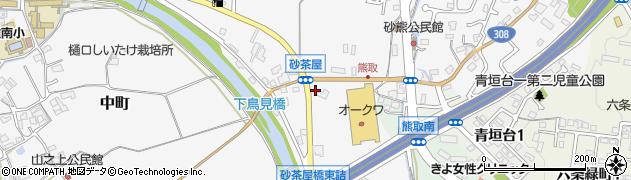 奈良県奈良市中町483周辺の地図