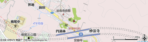 萩の寺周辺の地図