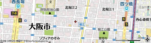 柔之道整骨院周辺の地図