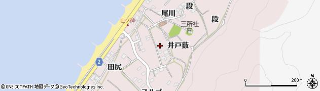 愛知県田原市野田町(井戸薮)周辺の地図
