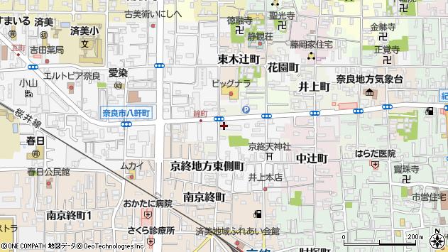 〒630-8323 奈良県奈良市京終地方東側町の地図
