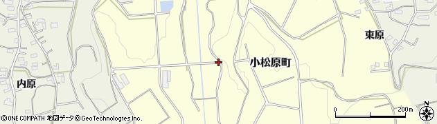愛知県豊橋市小松原町(中ノ谷)周辺の地図