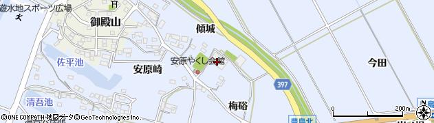 愛知県田原市豊島町(薬師)周辺の地図
