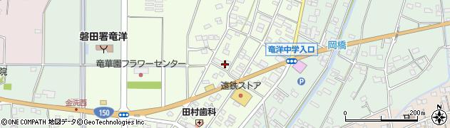 静岡県磐田市豊岡(金洗)周辺の地図