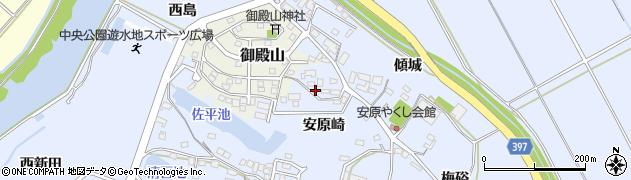 愛知県田原市豊島町(安原崎)周辺の地図