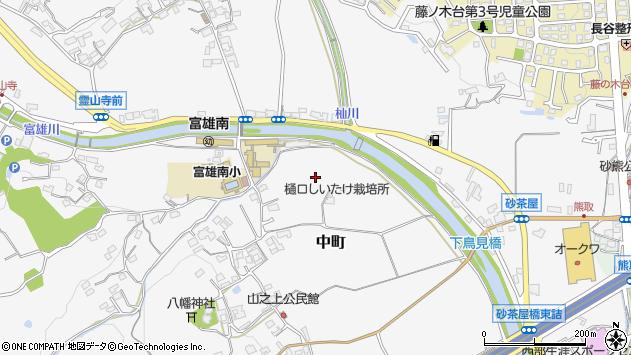 〒631-0052 奈良県奈良市中町(その他)の地図