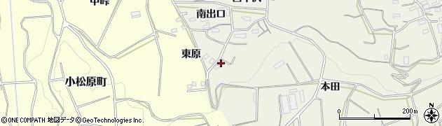 愛知県豊橋市小島町(本田)周辺の地図