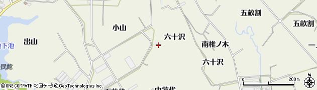 愛知県豊橋市杉山町(小山)周辺の地図