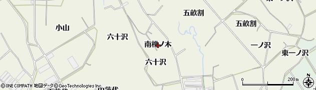 愛知県豊橋市杉山町(南椎ノ木)周辺の地図