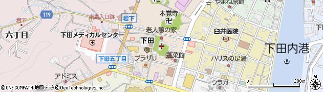 泰平寺周辺の地図