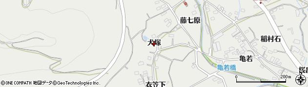 愛知県田原市田原町(犬塚)周辺の地図