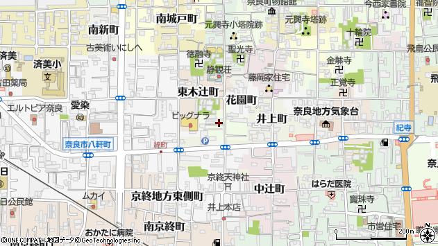 〒630-8326 奈良県奈良市瓦堂町の地図