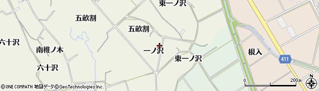 愛知県豊橋市杉山町(一ノ沢)周辺の地図