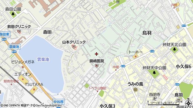 〒673-0006 兵庫県明石市鳥羽二本松の地図