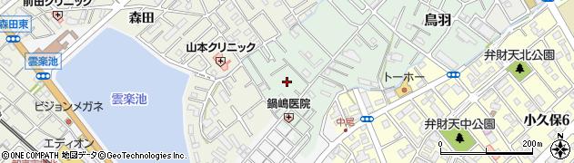 兵庫県明石市鳥羽(二本松)周辺の地図