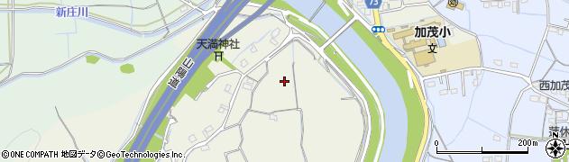 岡山県岡山市北区津寺周辺の地図