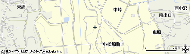 愛知県豊橋市小松原町周辺の地図