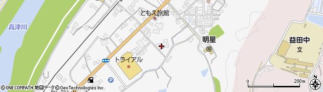 島根県益田市須子町周辺の地図