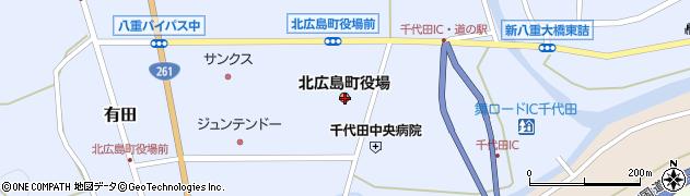 広島県山県郡北広島町周辺の地図