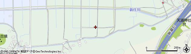 岡山県岡山市北区新庄下周辺の地図