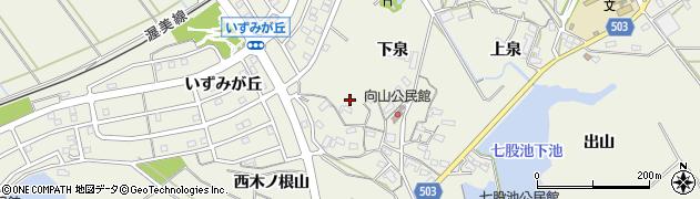愛知県豊橋市杉山町(西南代)周辺の地図