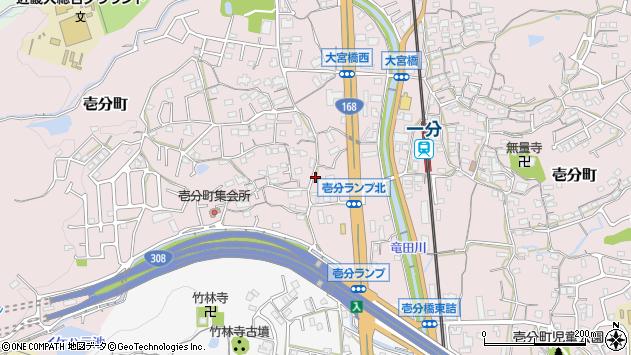 〒630-0222 奈良県生駒市壱分町の地図