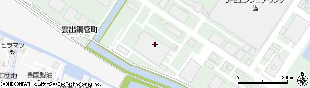 三重県津市雲出鋼管町周辺の地図