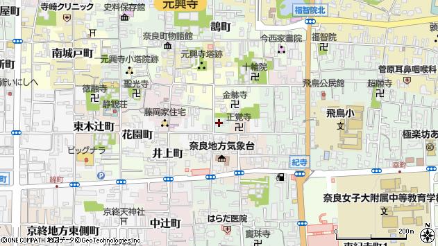 〒630-8313 奈良県奈良市川之上町の地図