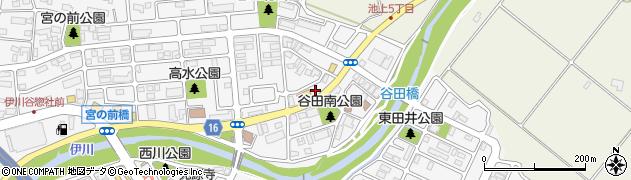 ワークマン神戸池上店駐車場周辺の地図