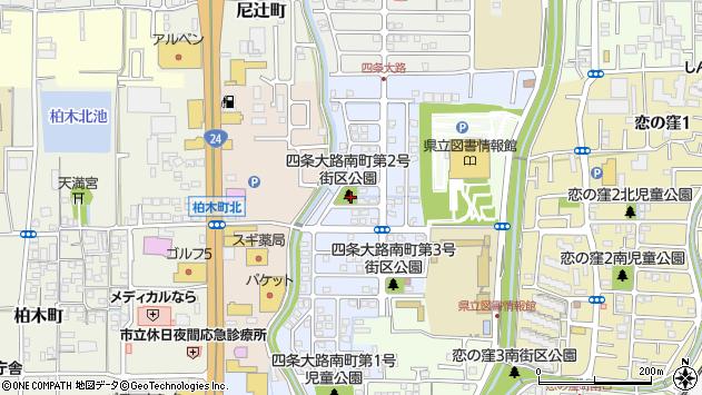 〒630-8015 奈良県奈良市四条大路南町の地図