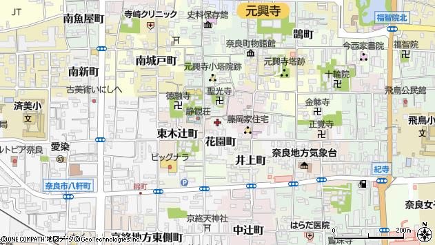 〒630-8331 奈良県奈良市三棟町の地図