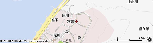 愛知県田原市野田町(宮東)周辺の地図