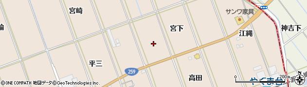 愛知県田原市谷熊町周辺の地図