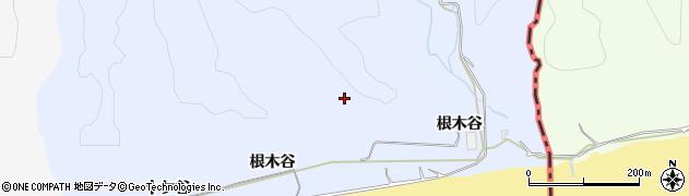 愛知県豊橋市東細谷町(根木谷)周辺の地図